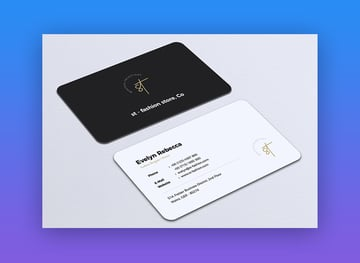 Minimalist Premium Business Card Template Vol 09