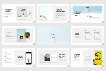 Ciri Google Slides template