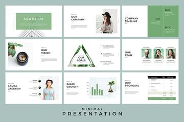 Minimal Presentation Google Slides Template