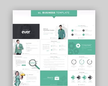 Ever - Amazing Keynote Template