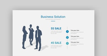 Finance Marketing GR - Simple Business Finance Template for PowerPoint