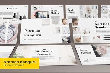 Norman Kanguru Keynote template