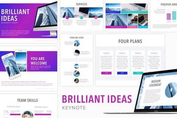 Brilliant Ideas Keynote template