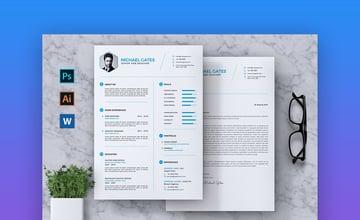 CV Resume - Basic Resume Template