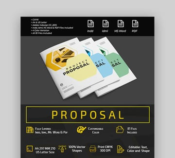 Proposal - Colorful MS Word Proposal Template
