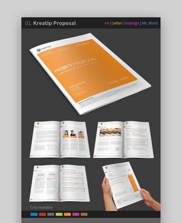 Proposal Bundle - Creative MS Word Business Proposal Template Bundle