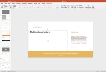 Adding images to the Luci PPT template