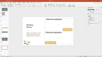 Changing colors in the Luci PPT template