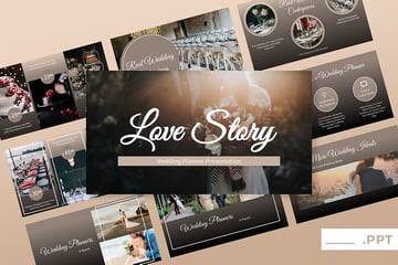 Love Story PPT Template