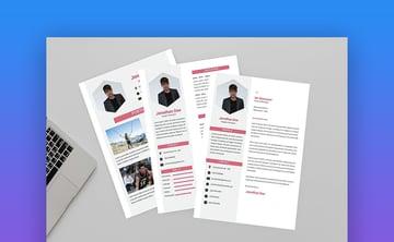 Attractive Resume Designer - Modern Resume Template