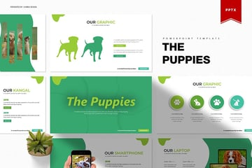 The Puppies PowerPoint Template