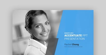 Accentuate PowerPoint Template - Sales and Pitch Deck Template