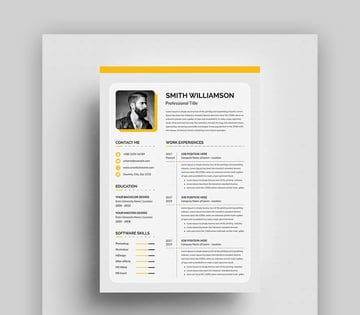 Creative ResumeCV Template for Creatives