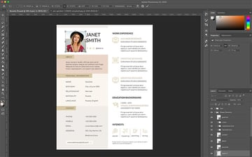 Adding your image to the Creative Resume Template Pro