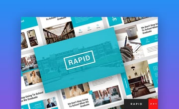 Rapid - Modern School and Education PowerPoint Template