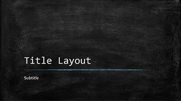 Chalkboard Free Education PowerPoint Template
