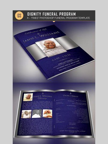 Dignity - Classy Photoshop Brochure Template