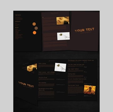 8Page Brochure - Simple Brochure Template in PSD Format