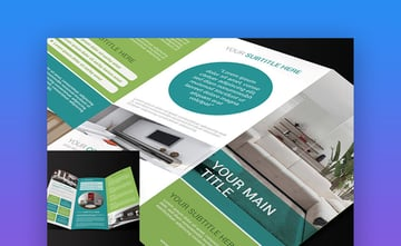 Multipurpose Trifold Brochure - Colorful Brochure Design Template