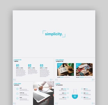 Simplicity  Premium and Easy to Edit PPT Template