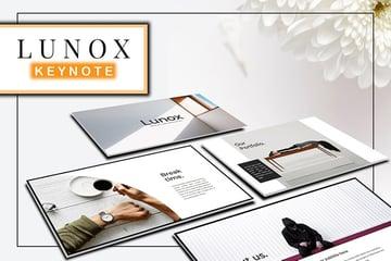Lunox Keynote Template