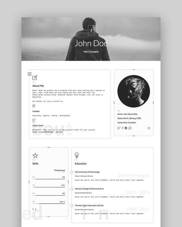 Classic - Lightweight Personal HTML Website Template