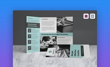 Brochure - Simple Brochure Template for MS Word