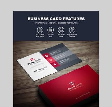 Business Card - Modern Business Card Template