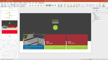 Adding images to a PowerPoint template