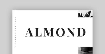 Almond - Best Elegant Google Slides Template