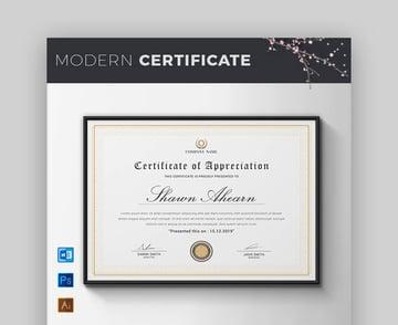 Certificate - Classic Certificate Template
