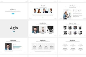 Agio PowerPoint Template