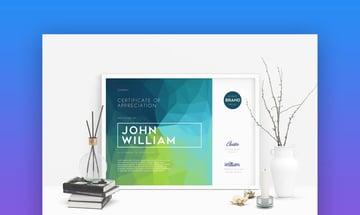 Modern Certificate - Multipurpose Word Certificate Template Design
