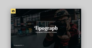 Tipograph - Photography PowerPoint Template