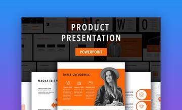 Sprint - Bold PowerPoint Template With Custom Theme