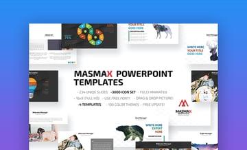 Masmax - Custom PowerPoint Template