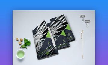 Trifold Modern Brochure - Elegant Brochure Template Design