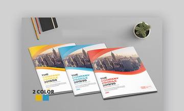 Business Profile Brochure - Corporate Brochure Template