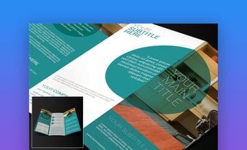 Trifold Brochure - Modern Brochure Template