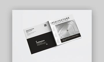 Square Architecture Brochure - Contemporary Brochure Design