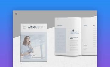 Annual Report - Professional InDesign Annual Report Design