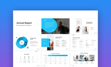 Annual Report - Minimal PowerPoint Template