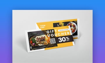 Restaurant - Gift Certificate Template