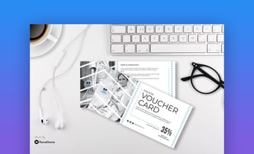 Pose - Fashion Gift Certificate Template