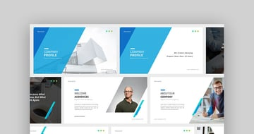 Company Profile Professional Google Slides Theme