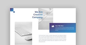 Sensation Corporate Google Slides Theme