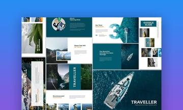 Traveller - Google Slides Professional Theme
