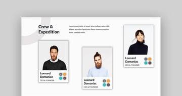 Damaniac - Google Slides Business Themes