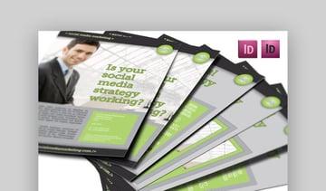 Modern Business Flyer  Informational Template Design