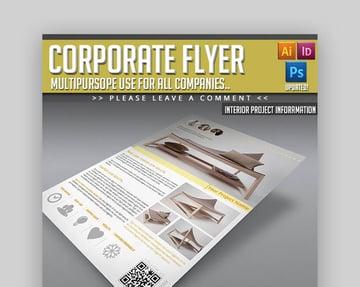 Corporate Flyer  Informational Flyer Layout Design
